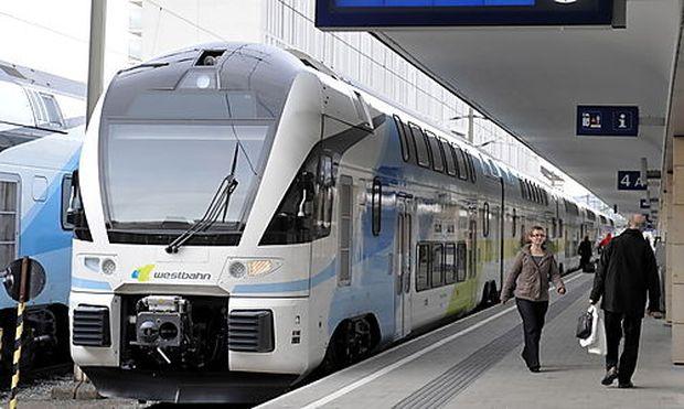 Archivbild: Ein Zug der Westbahn