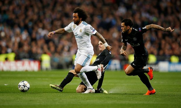 Real Madrid gegen Paris St. Germain