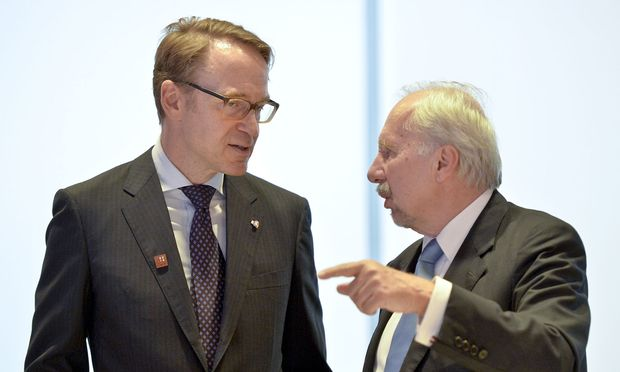 Ewald Nowotny (re) hätte es gerne gesehen, wenn Bundesbank-Präsident Jens Weidmann in der EZB Karriere macht