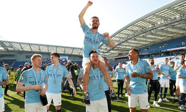 Am vergangenen Sonntag entschied City den Titelkampf in der Premier League gegen Liverpool für sich.