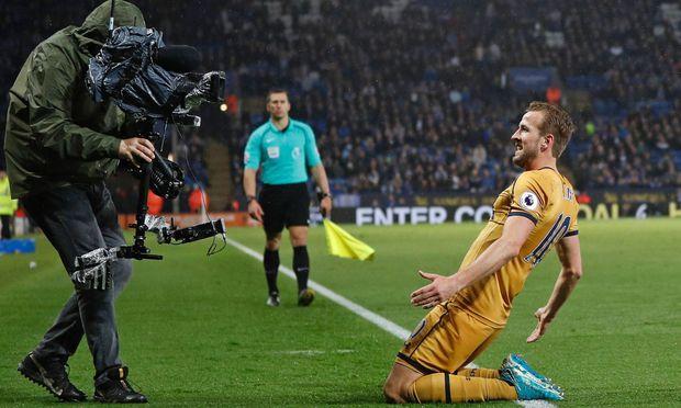 Harry Kane schießt Leicester fast im Alleingang k.o.