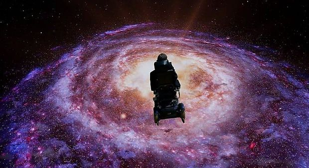Stephen Hawking im interstellaren Raum - Video zum