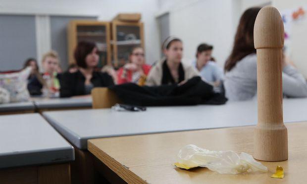 Symbolbild: Sexualkundeunterricht in einer Wiener Schule