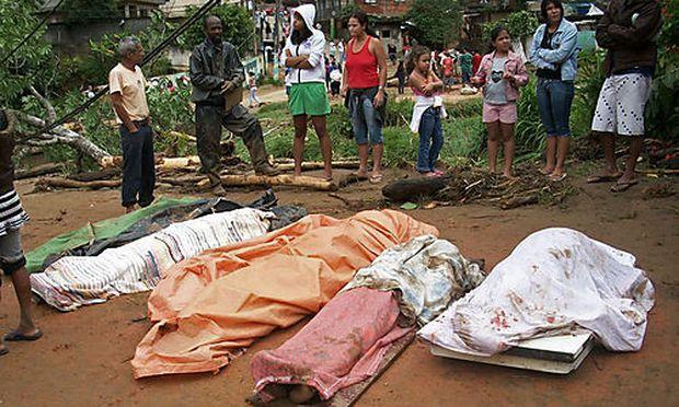 Erdrutsch Brasilien Tote