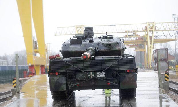 Leopard-2-Panzer