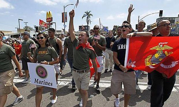 Homosexuelle US-Soldaten müssen sich nicht länger verstecken