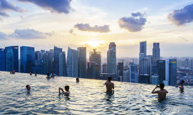 Auch Singapur ist stark vom Klimawandel betroffen.