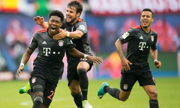 David Alaba hat bei Bayern München viel Grund zum Jubeln.