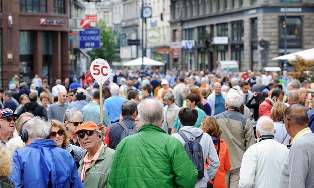 Wien schafft 2017 den 8. Nächtigungsrekord in Folge - BILD
