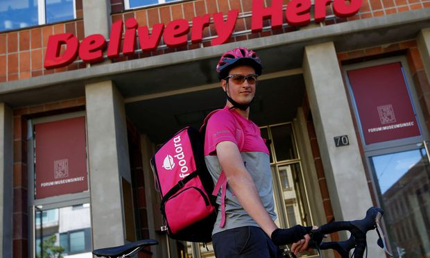 Delivery Hero will mit seinem Börsengang bis zu einer Milliarde Euro einsammeln