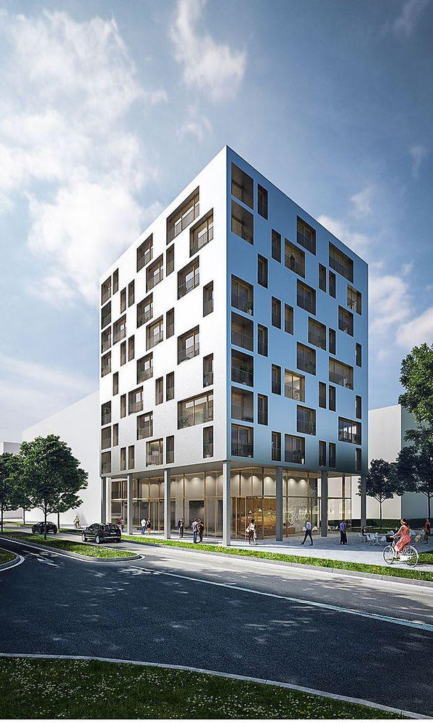 Holzhochhausprojekt SKAIO – J1 in Heilbronn
