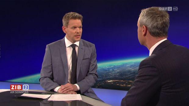 Kein einfacher Interviewpartner: Norbert Hofer.