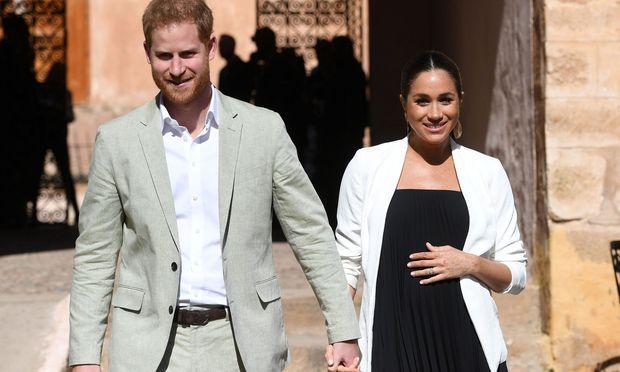 Das Baby von Prinz Harry und Herzogin Meghan wird Platz 7 in der britischen Thronfolge einnehmen.  / Bild: (c) REUTERS (POOL New)