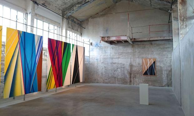 """Feldbach. """"Kunst an der Grenze"""" heißt dieser umfunktionierte Industriebau aus den 1920ern."""