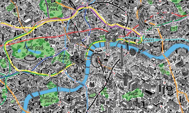 Kartenschatz Illustratoren Kartografen