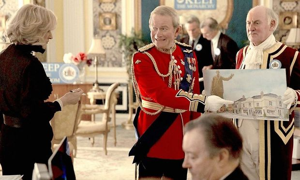 "Urkomische Royals-Satire: ""The Windsors"" (Charles, Camilla, l.)."