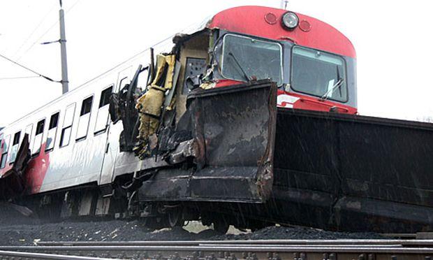 Zugunfall bei Kritzendorf