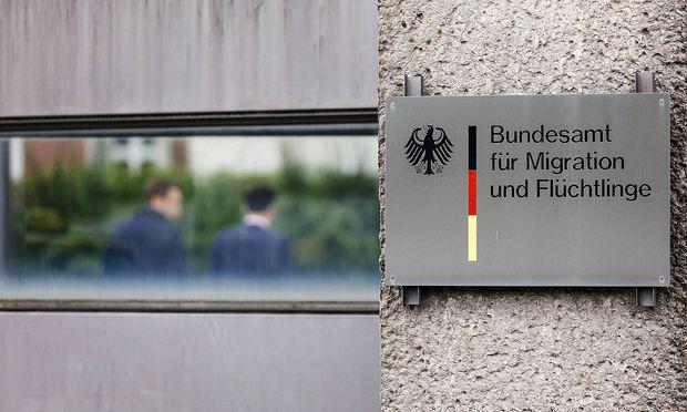 Bundesamt fuer Migration und Fluechtlinge auf dem Gelaende der ehemaligen Suedkaserne Nuernberg 23 09 2
