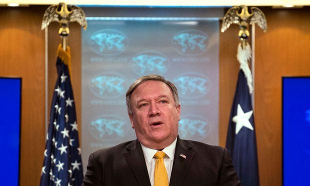 Am Freitag ließ US-Außenminister Mike Pompeo die erwartete Bombe platzen.