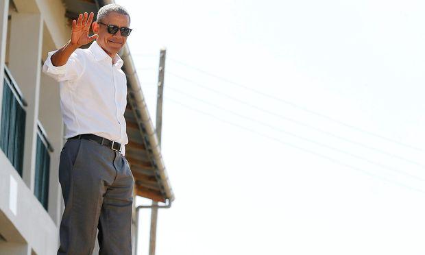 Barack Obama gibt gern Empfehlungen, für Literatur ebenso wie für Musik. / Bild: REUTERS