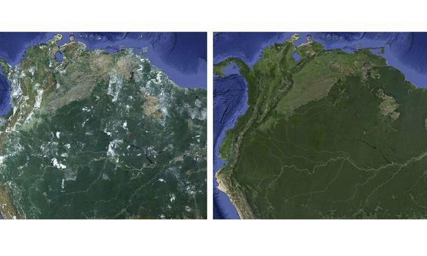 Google lässt Wolken in Maps und Earth verschwinden
