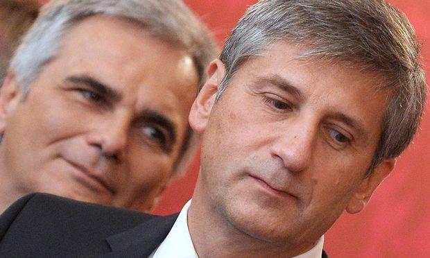 ÖVP, SPÖ, Koalition, Faymann, Spindelegger