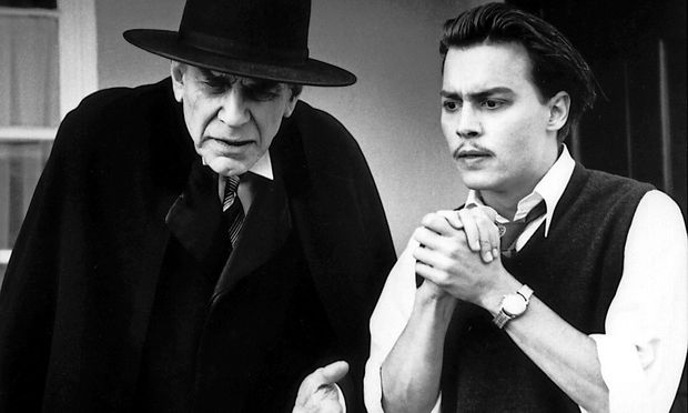 Martin Landau und Johnny Depp in