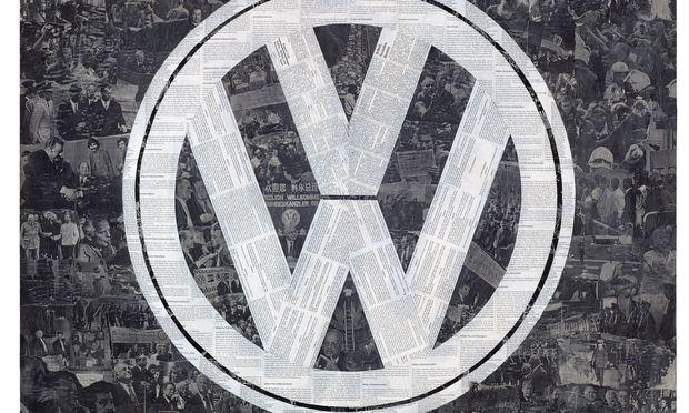 , Deutsches Symbol (VW), 1994, Courtesy der Künstler, Galerie Gisela Capitain, Köln und Galerie Crone, Berlin