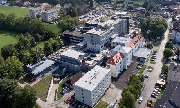 Schauplatz der tödlichen Verwechslung: Das Landeskrankenhaus Kirchdorf in Oberösterreich.