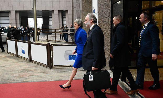 Theresa May lehnt ein zweites Brexit-Referendum ab.