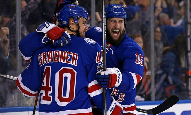ICE HOCKEY - NHL, Rangers vs Senators