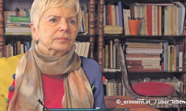 Die Kärntner Slowenin Katja Sturm-Schnabl (82) verbrachte drei Jahre in Lagern. Sie ist eine der letzten Zeitzeuginnen.