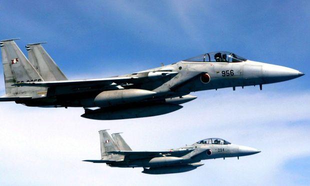 Einsatz japanischer Kampfjets über umstrittenen Inseln