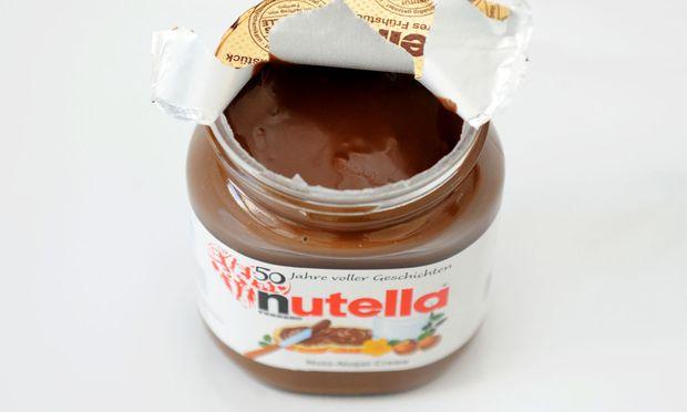 Ein Glas Nutella