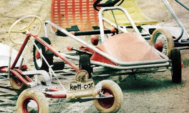 1961 brachte Kettler das erste Kettcar auf den Markt. Die Inspiration dazu fand Gründer Heinz bei einer Reise in die USA.