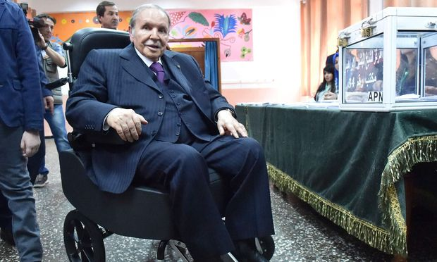 Abdelaziz Bouteflika ist seit 1999 im Amt, tritt aber kaum noch öffentlich auf.