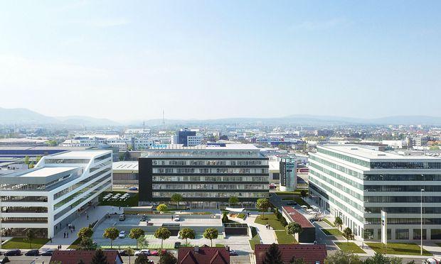 Silo-Offices in Wien-Liesing