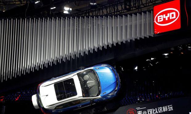 """Zukunft hat auch in China einen trendigen Namen: BYD steht abgekürzt für """"Build your dreams"""". Der Hersteller von Elektrofahrzeugen ist gut im Geschäft."""