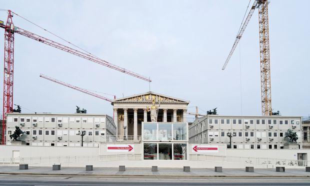 Baustelle Parlament: wieder einmal.