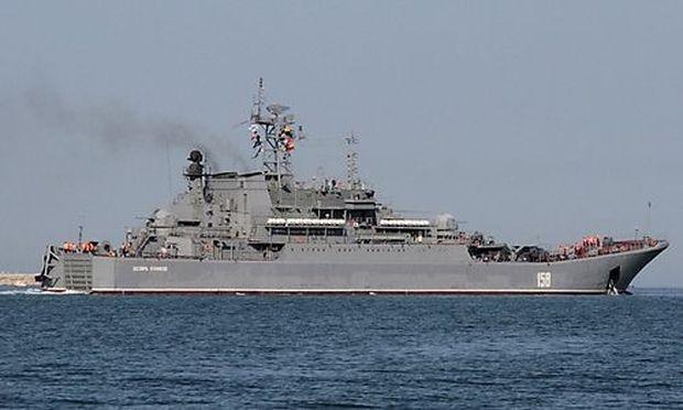 Russland schickt Kriegsschiffe nach Syrien