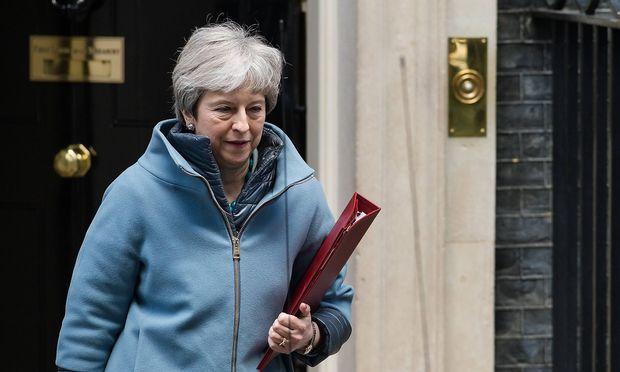 Theresa May am Montag