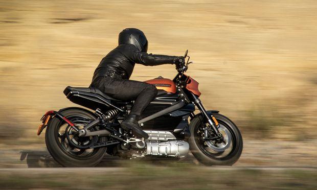 Garantiert knatterfrei mangels Auspuff: Harley-Davidson LiveWire.