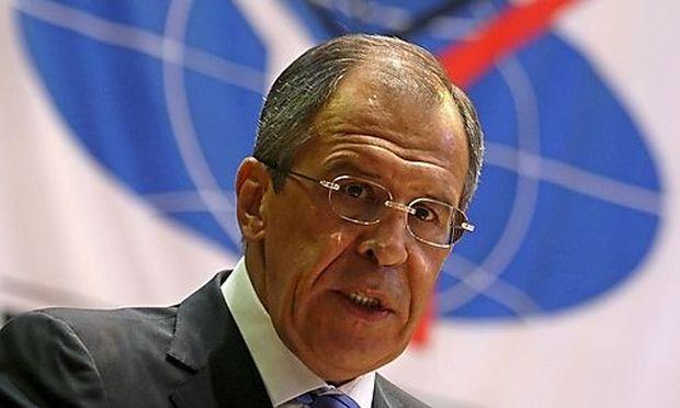 Archivbild: Russlands Außenminister Sergej LAWROW
