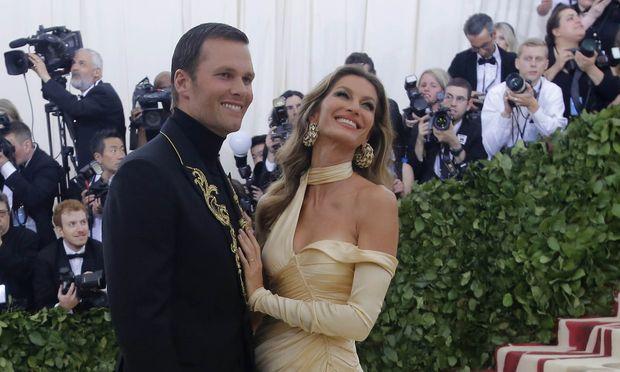 Ein amerikanisches Glamourpaar: Tom Brady und Gisele Bündchen.