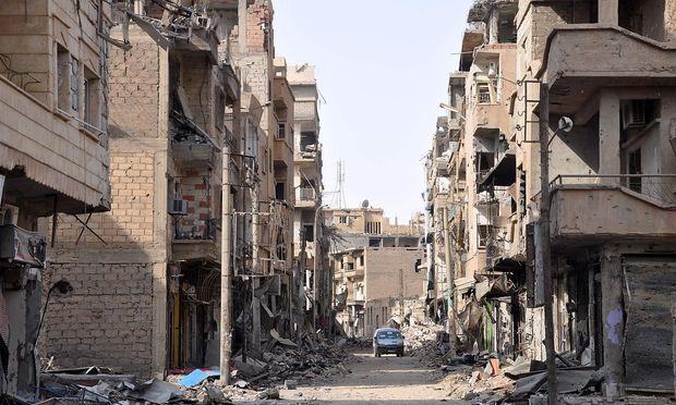 Diese Woche gelang es der syrischen Armee, die Stadt vollständig zurück zu erobern.