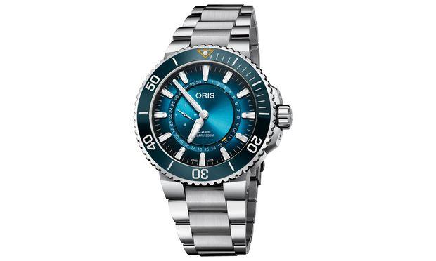 """Partnerschaft. Die Oris """"Clean Ocean Limited Edition"""" entstand in Zusammenarbeit mit der Meeresschutzorganisation."""