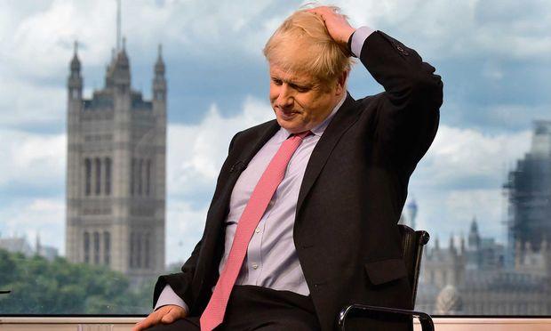 Boris Johnson konnte im Interview mit BBC-Moderator Andrew Neil nichr durchwegs überzeugen - seinen Anhängern ist das ohnehin egal.