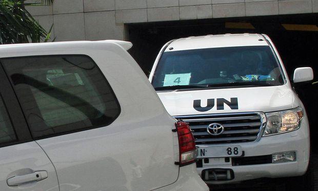 Russland UNInspektoren kehren nach / Bild: (c) imago stock&people (imago stock&people)