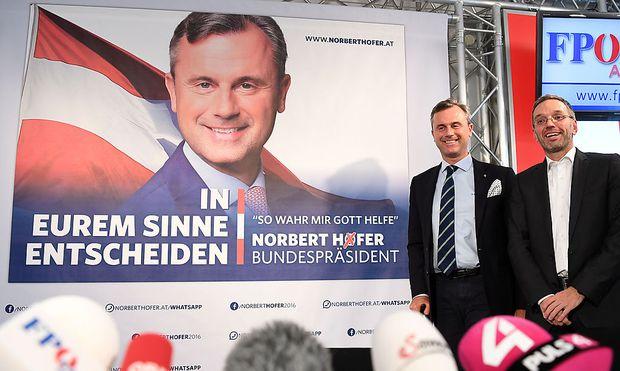 Neue Plakate von Norbert Hofer