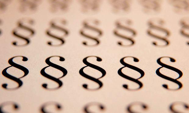 Paragrafenzeichen, Symbolbild